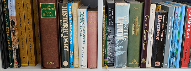 A growing collection of Dartmoor literature